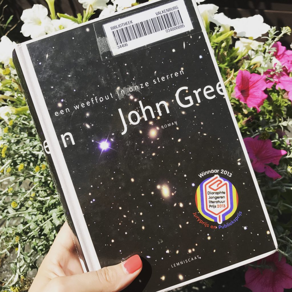 Citaten Uit Een Weeffout In Onze Sterren : Boek john green een weeffout in onze sterren